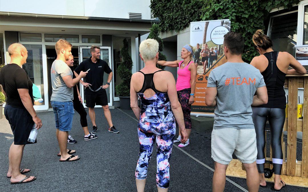 sportomed Fitness wird Partner von heldensphäre